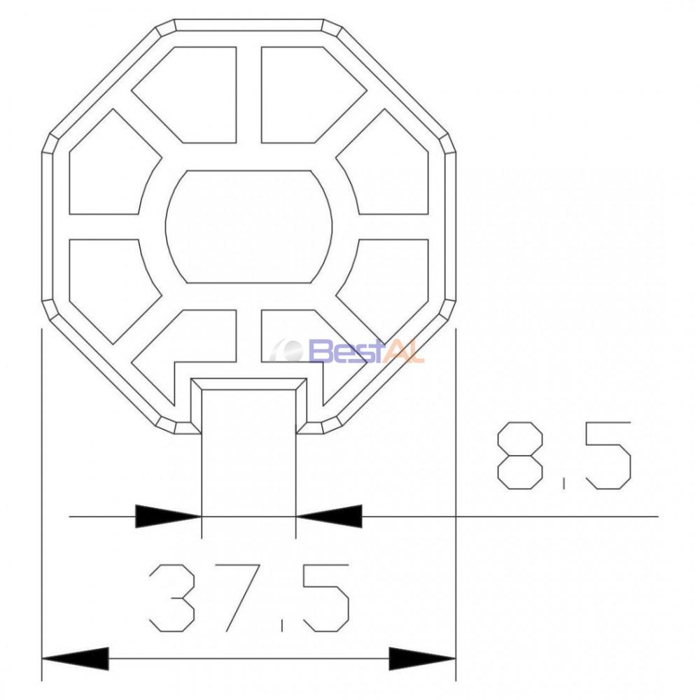 Adaptor DL 44 Inele & Adaptoare DL 44 Bestal