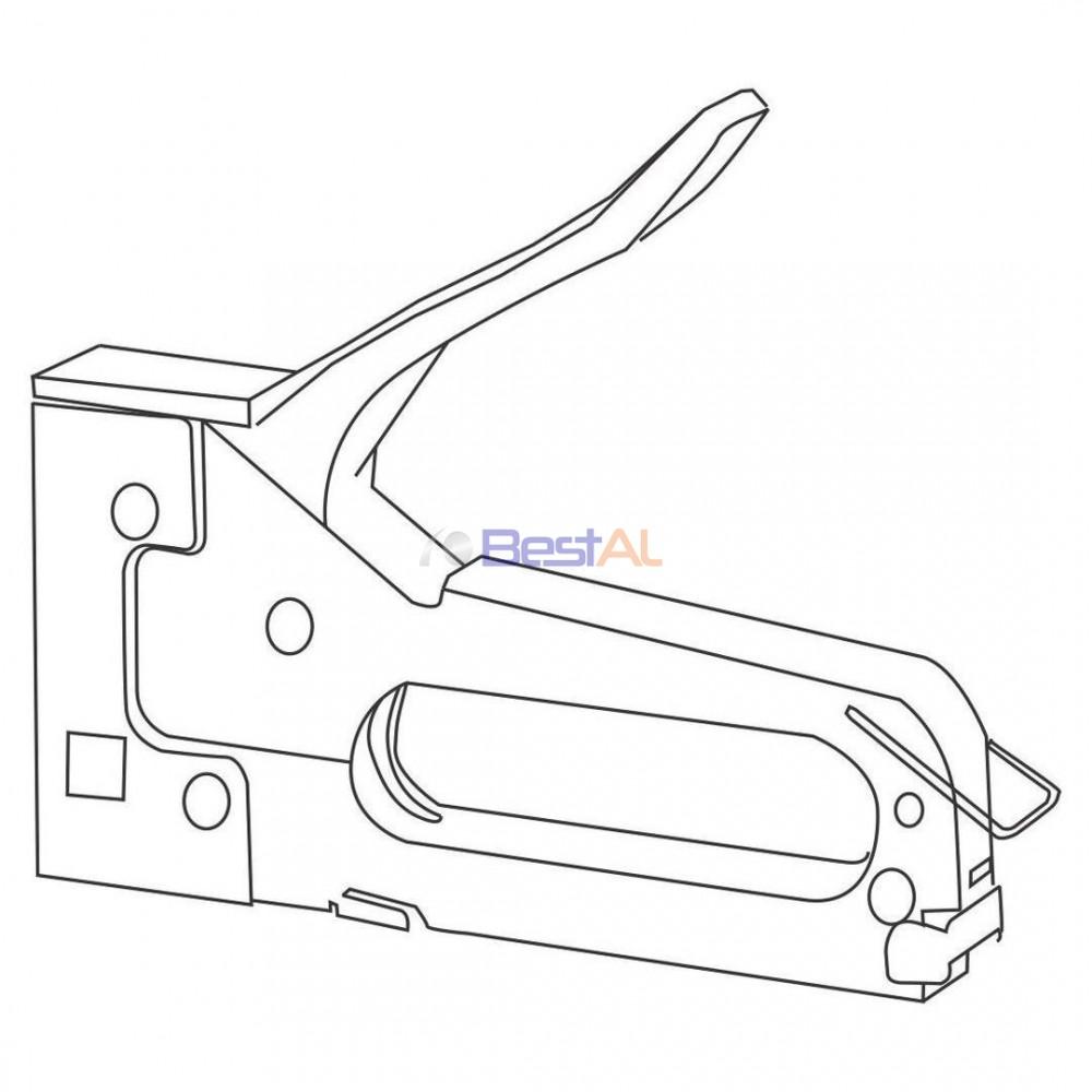 Capsator Manual pentru Capse Tip A Accesorii Montaj CM TA Bestal