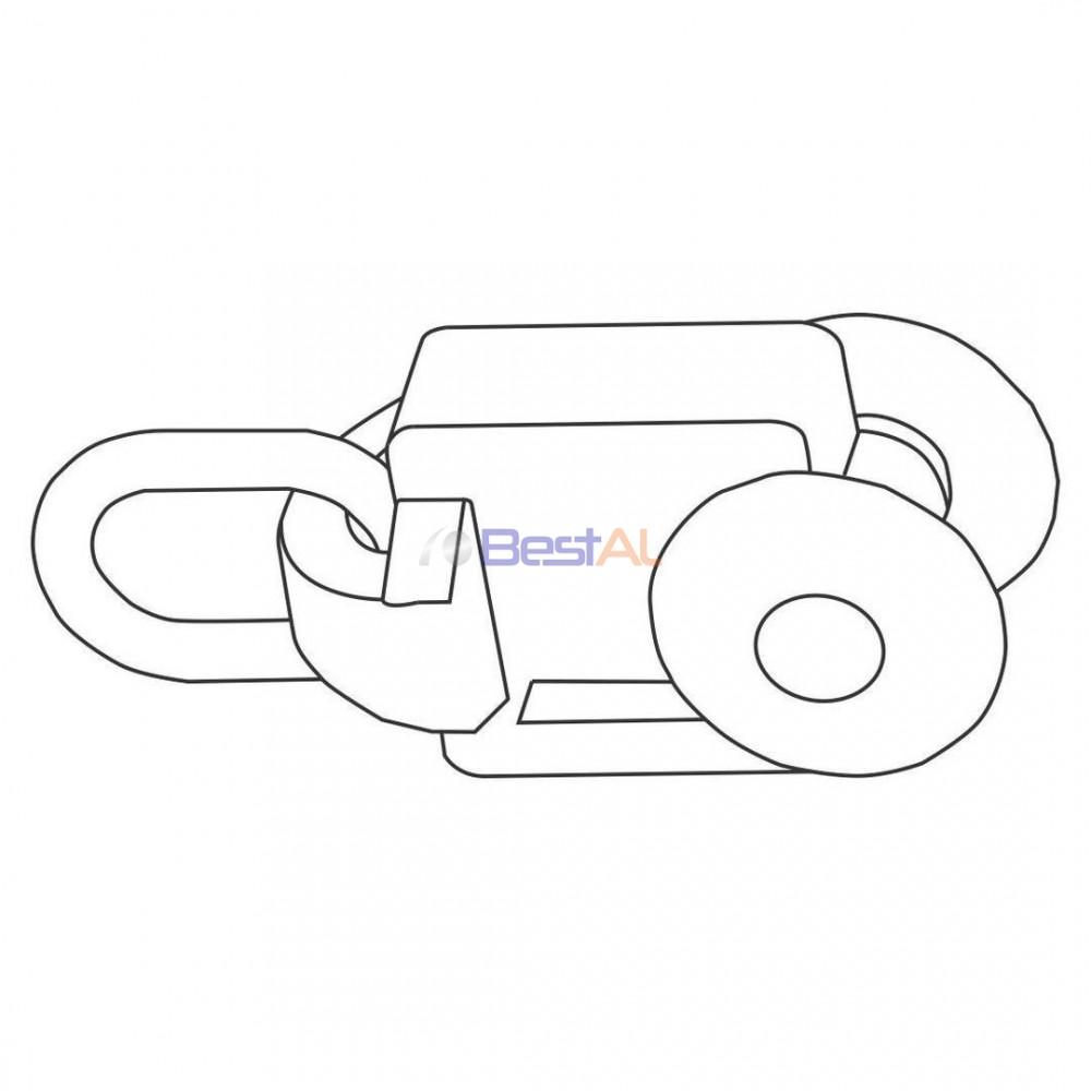 Cărucior Sina & Accesorii Draperii Electrice DS 157-06 Bestal