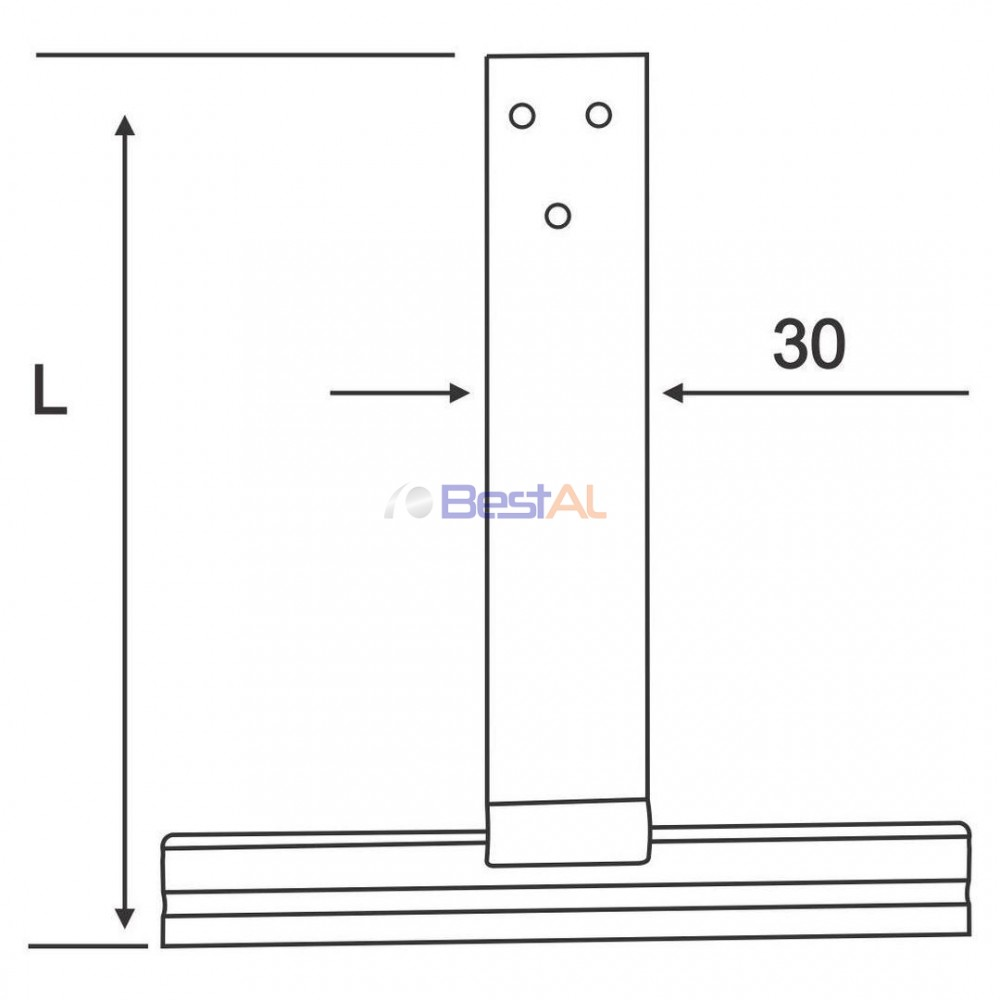 Clemă de Agățare Metalică 150 Cleme CA150 Bestal