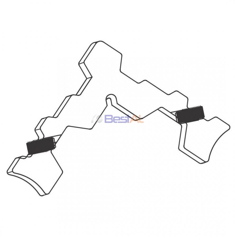 Colțar pentru Profil Cercevea Plase Insecte Glisante CC1/CC2 Bestal