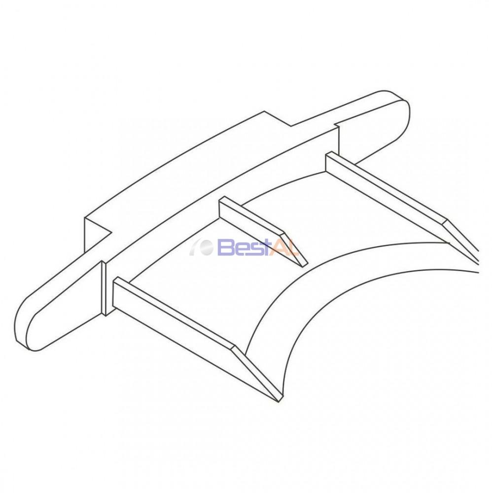 Dop Plastic Lamelă 39-IA / 45-IA Accesorii Lamele si Lamele Terminale DP XXX YY IA Bestal