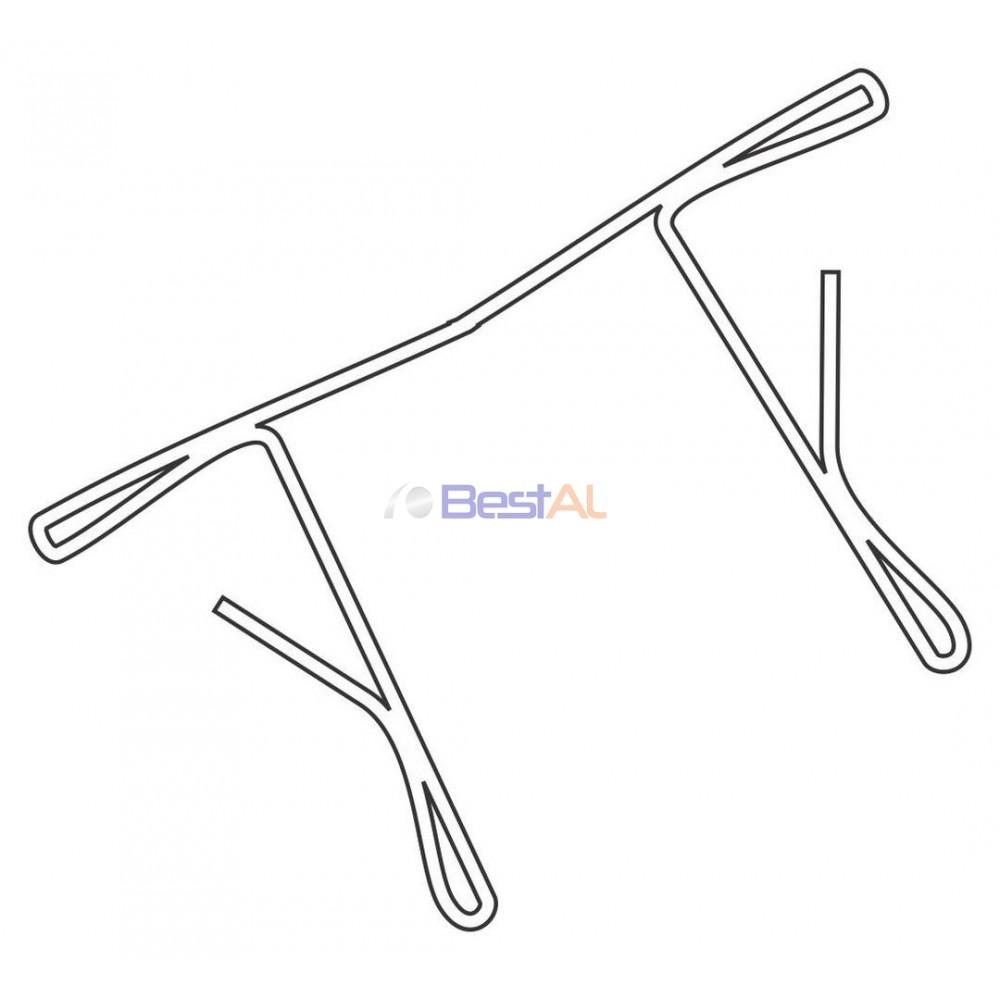 Dop Sârmă Lamelă PVC 37mm Accesorii Lamele si Lamele Terminale DP XX YY Bestal