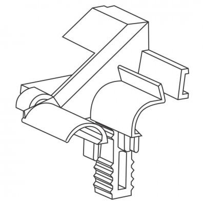 Ghidaj Dublu Plastic Plasă Încorporată Componente Rulouri cu Plasa GHPP - Bestal