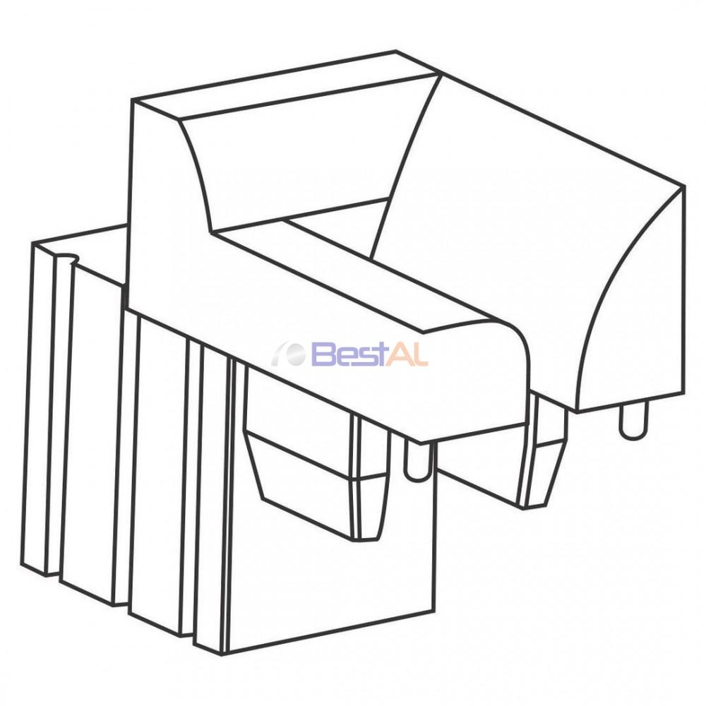 Ghidaj pentru Plasă Parțială Componente Rulouri cu Plasa GPP Bestal