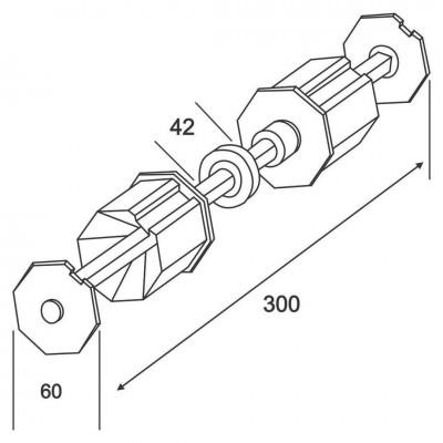 Legatură Ax 60mm cu Rulment Axuri & Accesorii TAXR Bestal