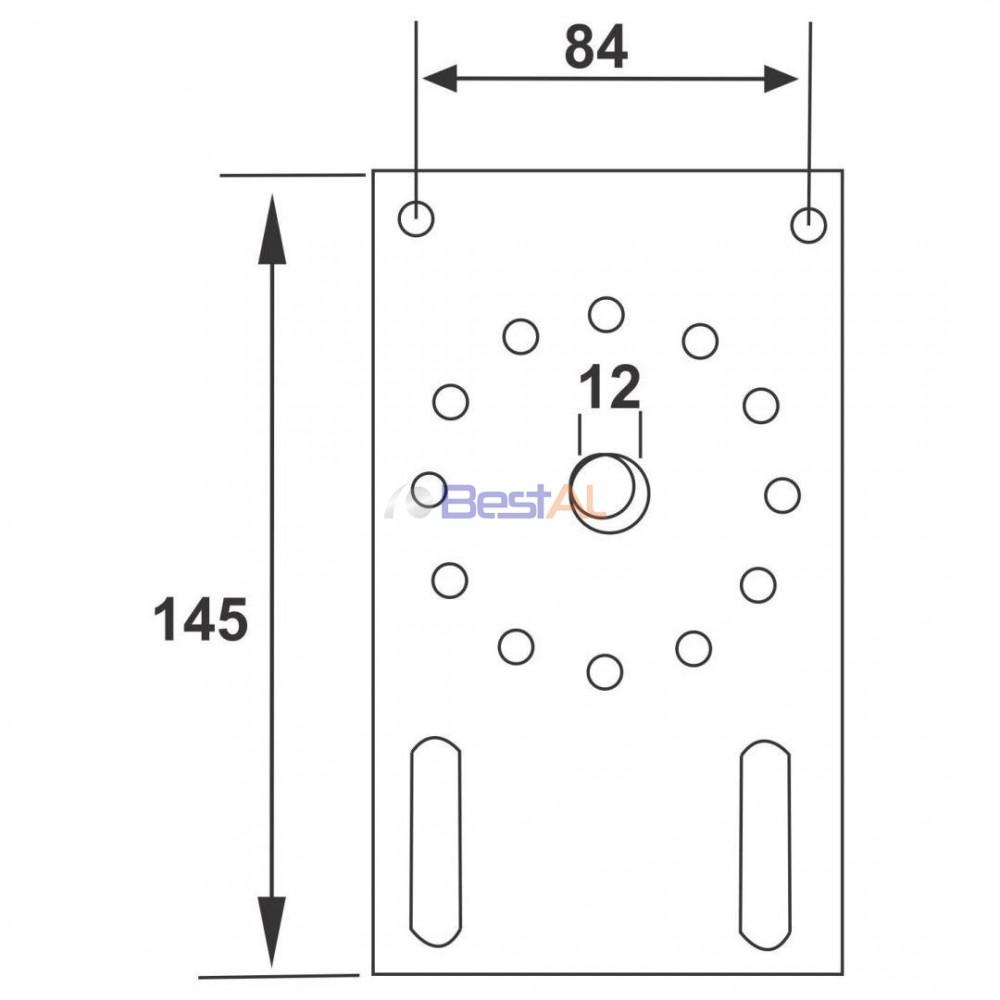 Plăcuță Prindere Actionari Manuale & Accesorii DZ 140 Bestal