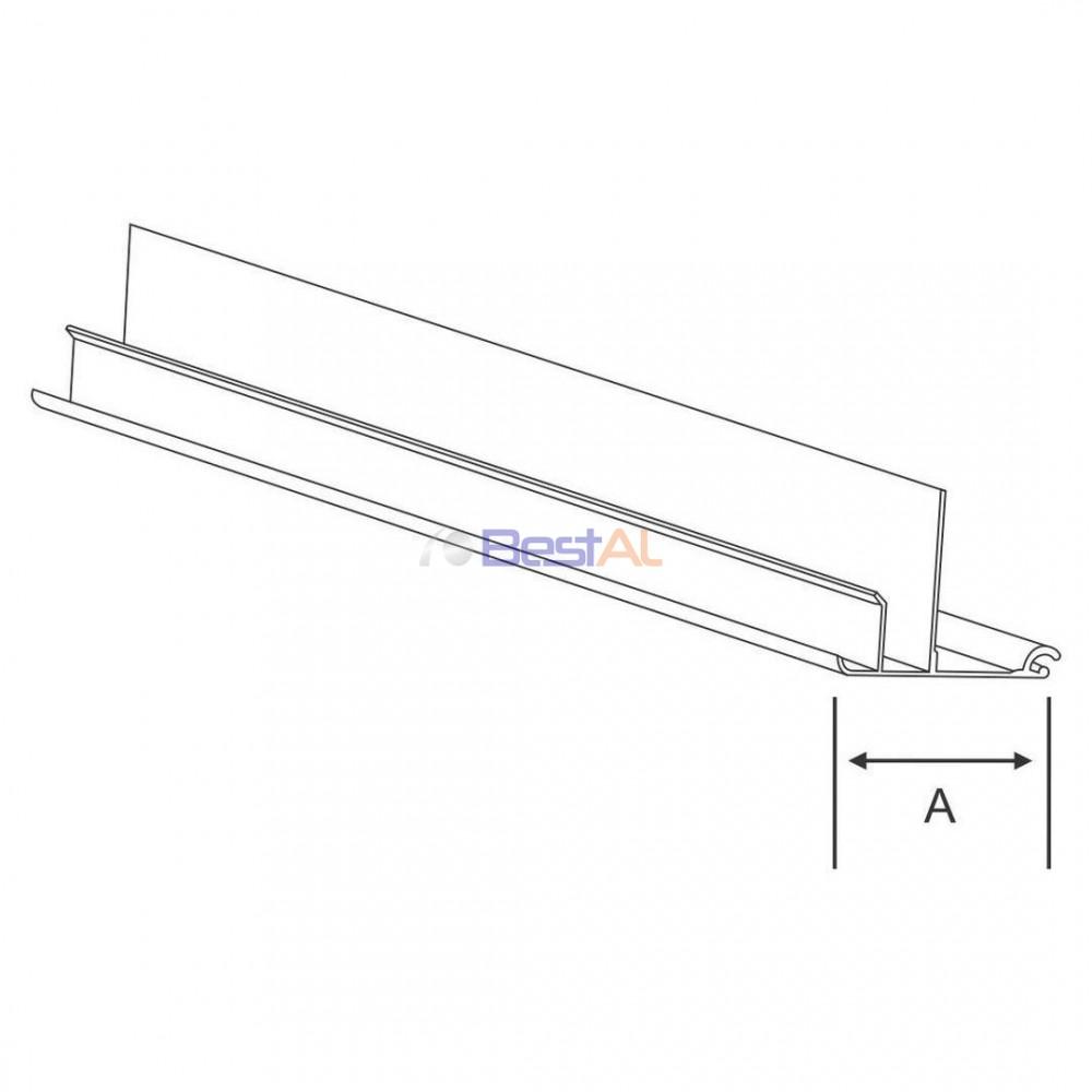 Profil Cornier Casetă Tencuibilă Caseta, Capace & Accesorii CT - Bestal
