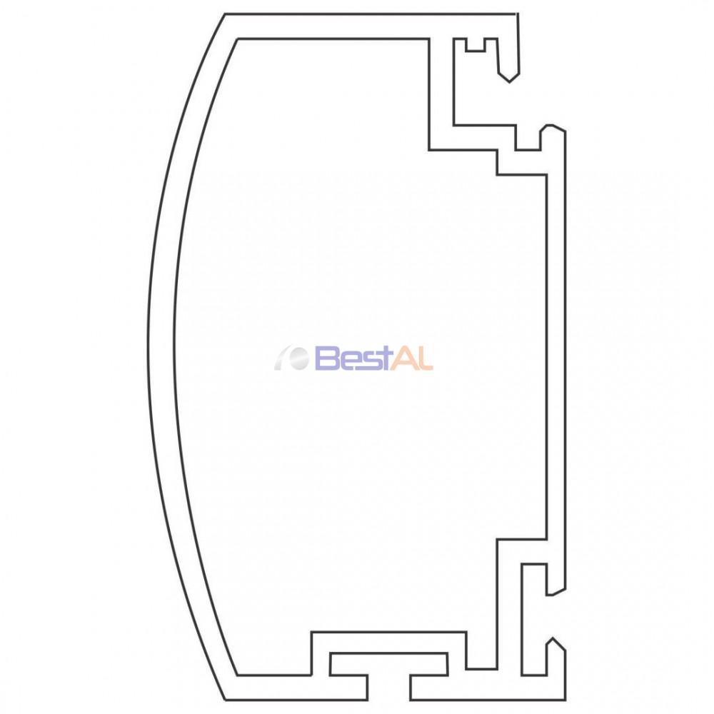 Profil Plasă pentru Uși cu Balamale Plase Insecte Batante PPU XX Bestal