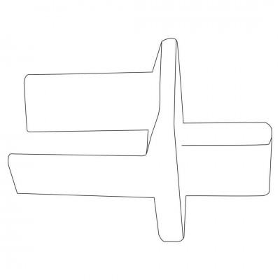 Ghidaj Plastic Lamelă 77 Accesorii Capace GHP 77 Bestal